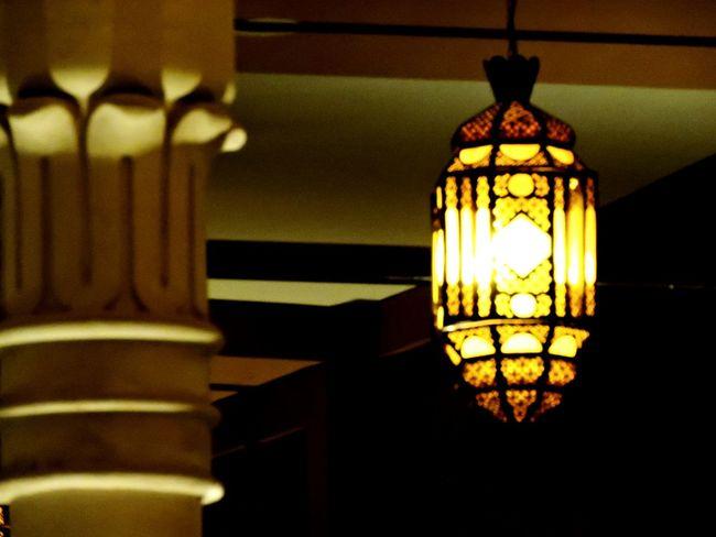 Street Lamp Night Landscape