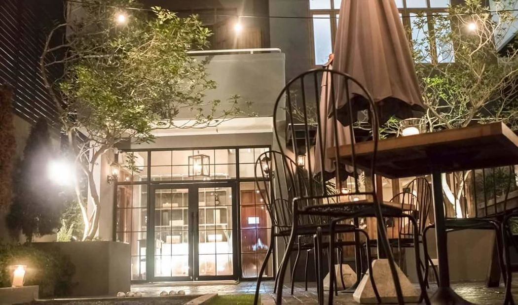 Lighting Equipment Building Exterior Night Street Light Outdoors Entrance Restaurant Interior Design Restaurant Table Wine Bar Color Portrait House Built Structure Outside Group Of Objects Chair Table Colorful Winelover Wine