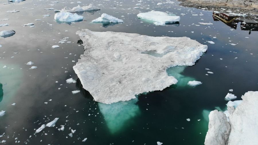 Drone  Drone Shot EyeEm Best Shots EyeEm Best Shots - Nature Icebergs Ilulissat Ilulissat Icefjord The Real Greenland This Is Greenland Cold Temperature Drone Photography Dronephotography Droneshot High Angle View Iceberg Iceberg - Ice Formation Nature Outdoors Water