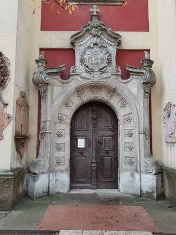 Szentendre_Hungary Vilage Museum Architecture_collection Serbian Orthodox Church Entrance Door Old Architecture Beautiful Detail No People