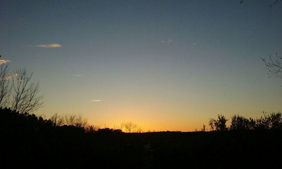 12.18.15 5:04pm Sky Skyview Landscapeview Eveningsky Sunset Raleigh Northcarolina CeBPhotography