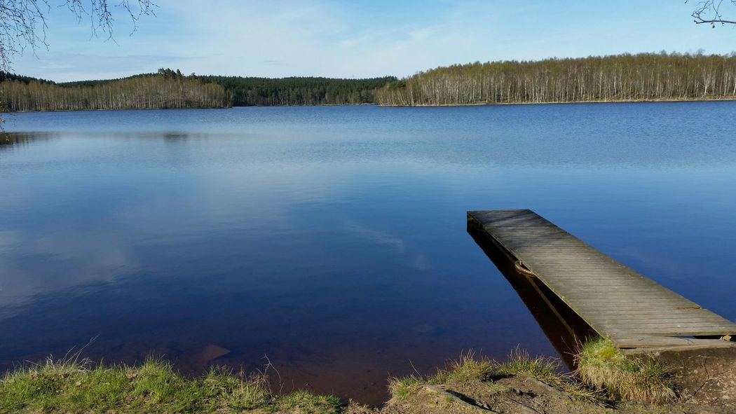 Taking Photos Enjoying Life Sweden Lake View Lake Brygga Water