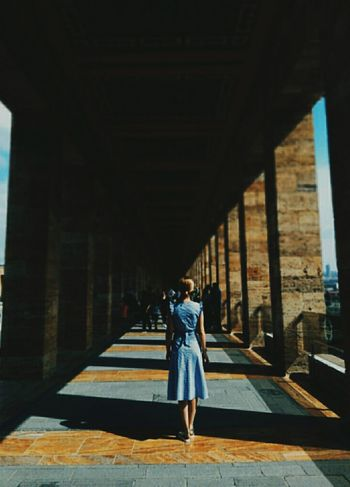 One Woman Only Beautiful Woman Young Women One Young Woman Only People Built Structure Architecture Architectural Column Full Length Women City Day Shadow Outdoors Young Adult EyeEmNewHere Portrait Nature Anıtkabir Artphotography Ankara