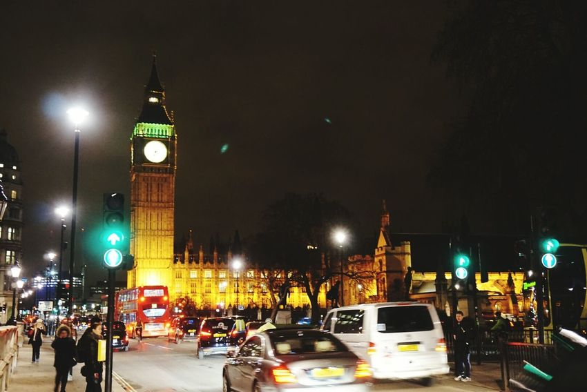 Bigben London England Nightview