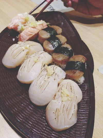 The scallop is the bomb Japan Eye4photography  IPhoneography Japanese Food