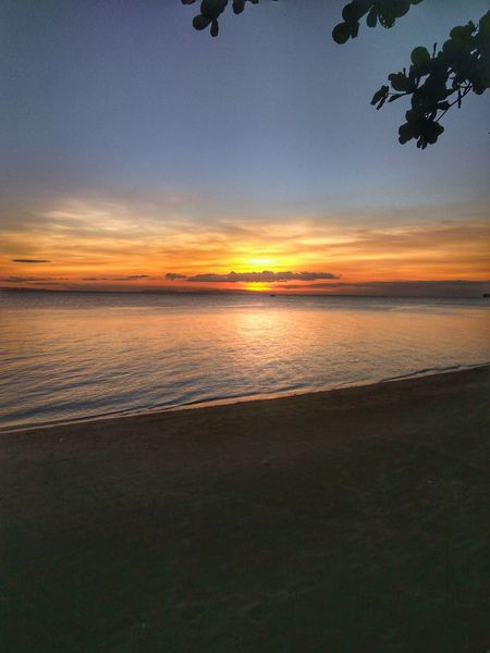 Sunset Water Outdoors Beauty In Nature Nature Beach Sea Scenics Sky Landscape No People Eyeem Philippines Bicol, Philippines Vacations Sun Sunset Lovers Sunset Dramatic Sky