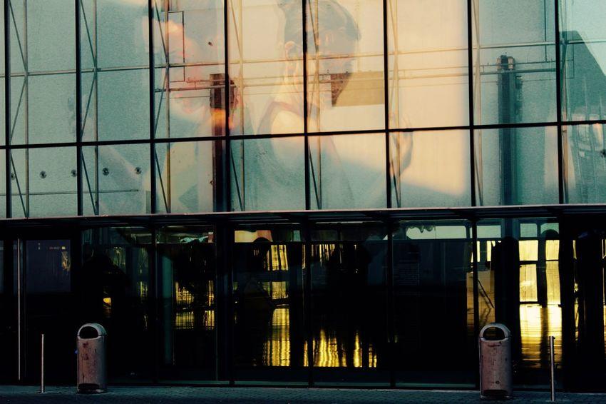 Architecture City Day Louvain-La-Neuve, Belgium No People Window