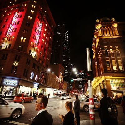 City of Sydney Night Scape Australia Newsouthwales Vividsydney Iampangean Travel Travelgram
