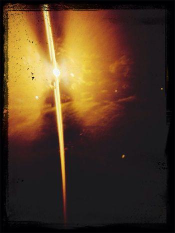 Light burst Light And Shadow Street Light