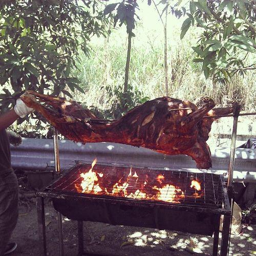 Grill lamb for kenduri doa selamat Grill Lamb Kambinggolek Kenduri