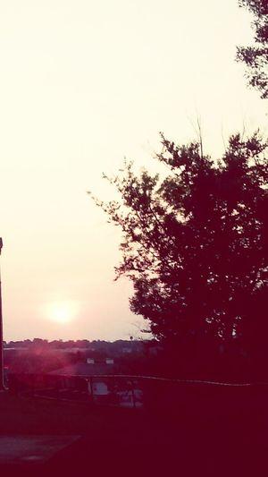 Sunset Sunset_collection Sunset #sun #clouds #skylovers #sky #nature #beautifulinnature #naturalbeauty #photography #landscape Pastels New England Sunset USA Tree And Sky Sunset Silhouettes Beautiful Sunset Sun_collection