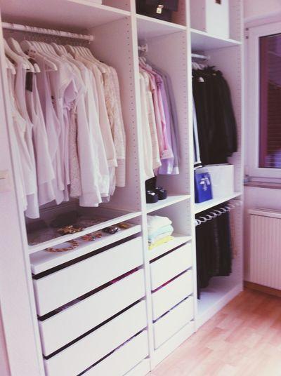 Wardrobe Walk-in Clothes Clothes Blonde