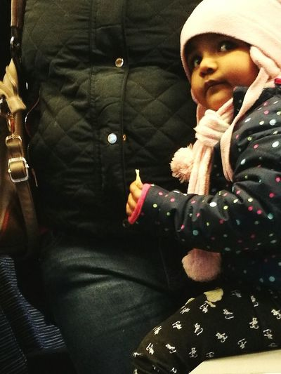 People Photography People On The Train Little Girl Unknown Little Girl Travellerslife Traveller Baby People