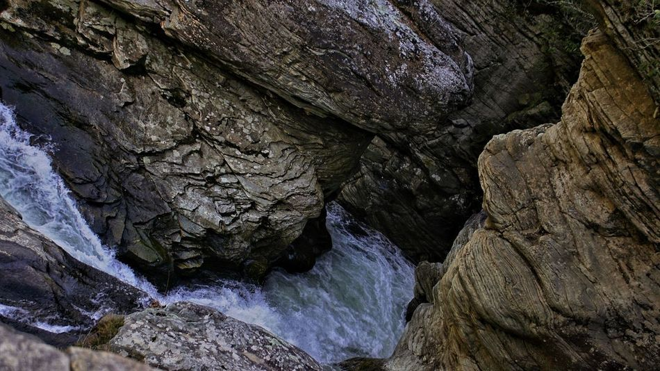 Roaring waters Waterfalls Water Rushing Water River Gorge Water Cave Backgrounds Textured  Full Frame Rock - Object Rough Close-up