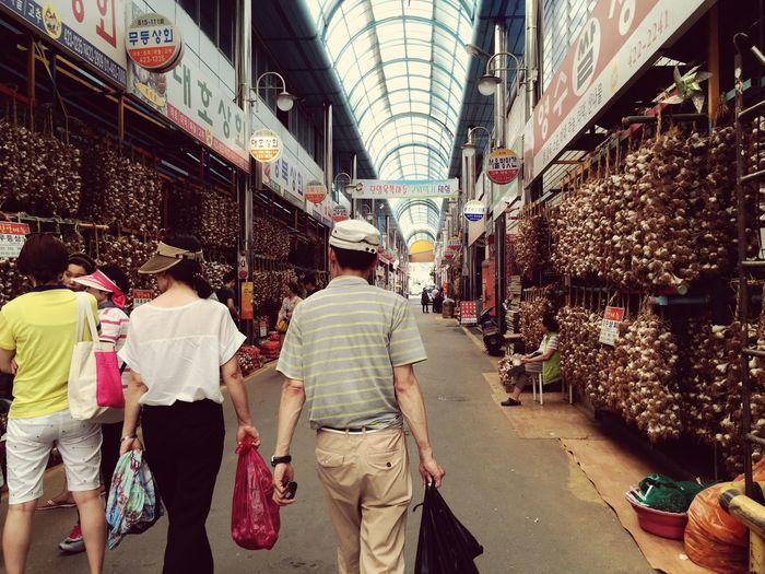 Garlic Wild Garlic Korean Market Hanging Out