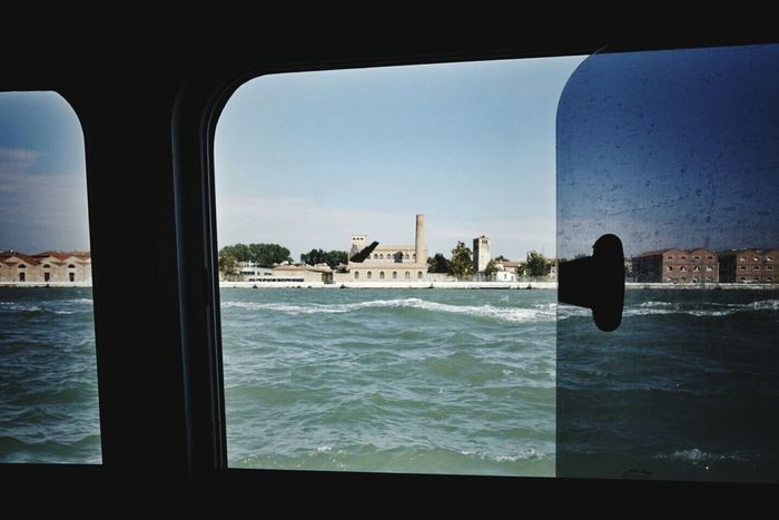 Looking my-dear-old-University through the window of vaporetto | Iuav Venezia Getting Creative Looking Out Through The Window Urban Landscape Untold Stories Vaporetto From My Point Of View EyeEm Italy | The Week On EyeEm Editor's Picks