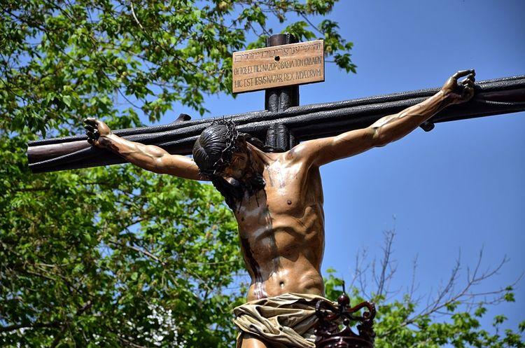 Cristo Crucificado Hermandad De Los Negritos JuevesSanto Santísimo Cristo De La Fundación Sevilla Seville