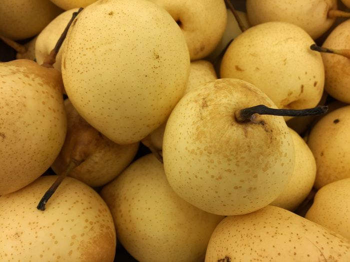 Food Food And Drink Freshness Healthy Eating For Sale Market Close-up No People Indoors  Day Pear Pears