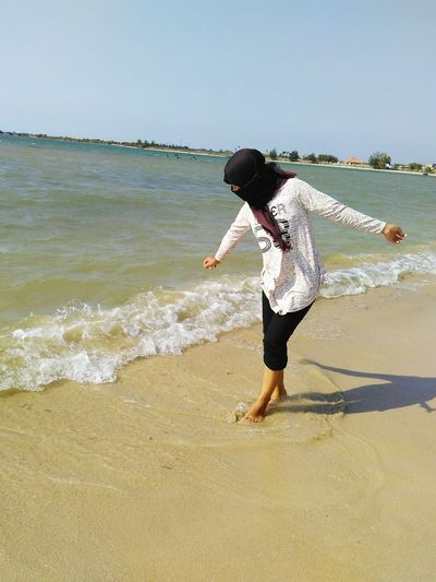 Beach Time Walker Water Mocca INDONESIA Central Java,indonesia Jepara Relaxing Hello World Happyday Java Island Laught Holidays ☀ Vacation Time