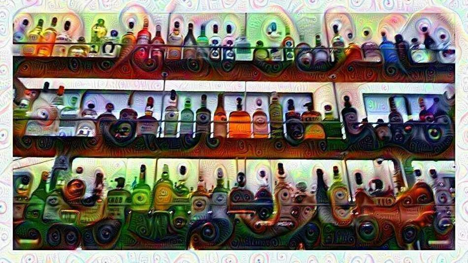Bar Liquor Alcohol Bottles Bottes Abstract Photography Dreamify