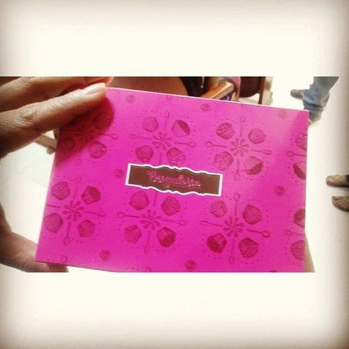 Bday Brigaderia Registrando o presente da Adriana <3 Que gosta mais de mim do que da minha irmã ;)