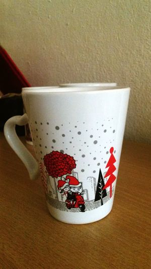 Bi kahve.... Coffee No People Nature Day Red Huzur♥ Huzuristiyorum Table Red Indoors  Vertical No People Close-up Day