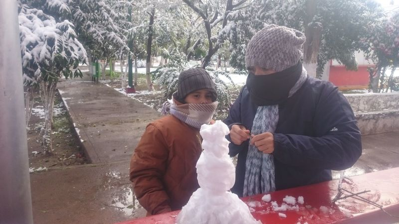 Togetherness Love Family Childhood Day Son Child Outdoors Happiness My Habib EVERY 20 YEARS SNOW HERE Weather Spraying Wet Snow In Desert Comarca Lagunera Snow Winter Cloud - Sky Warm Clothing Cold Temperature