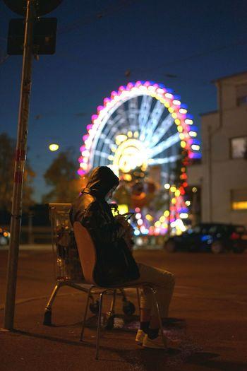 Bokehlicious Wasen Stuttgart Taking Photos Riesenrad Colorfull
