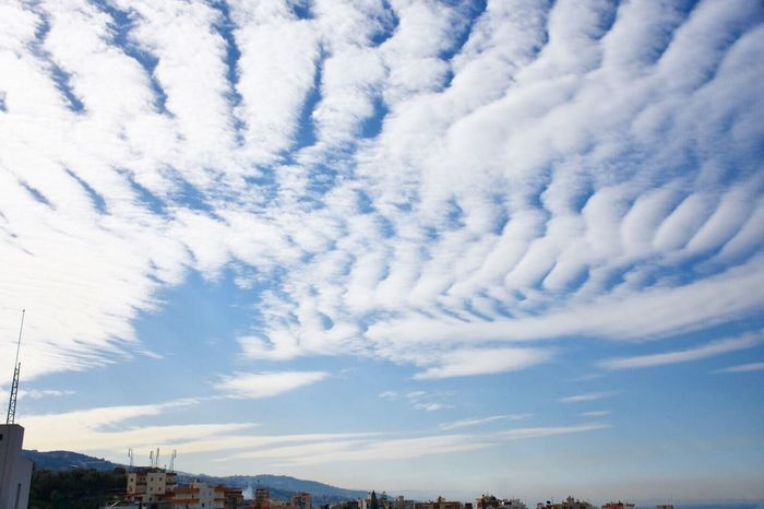 A cloudy pattern. The path towards the sky. Cloudporn Clouds And Sky Cloud Pattern Sky Blue Cotton White Hills Town City Landscape Naturalpainting Nikon Nikonphotography Byblos,Lebanon Showcase March