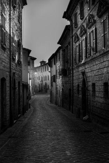 B&w Street Photography Blackandwhite Landscape Italy B&w Streetphoto_bw Borgo Antico Landscape_photography Hidden Gems  Sassoferrato Rocca Di Albornoz Regionemarche Città Del Sentinum