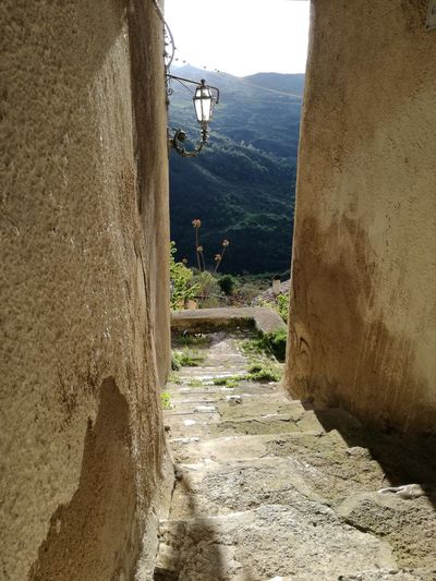 Mountain Day Outdoors Built Structure No People Sky Architecture Nature Building Exterior San Fele Italy
