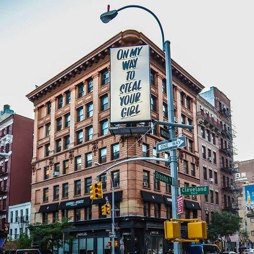 Woi....bacchanal start bai @BaronVonFancy BaronVonFancy GordonStevenson Billboard UrbanART StreetArt StreetArtNYC Graffiti NYCGraffiti NYCStreetArt Mural Art Soho Manhattan Nikon