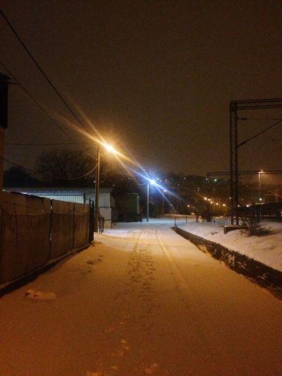 Belgrade street in winter First Eyeem Photo
