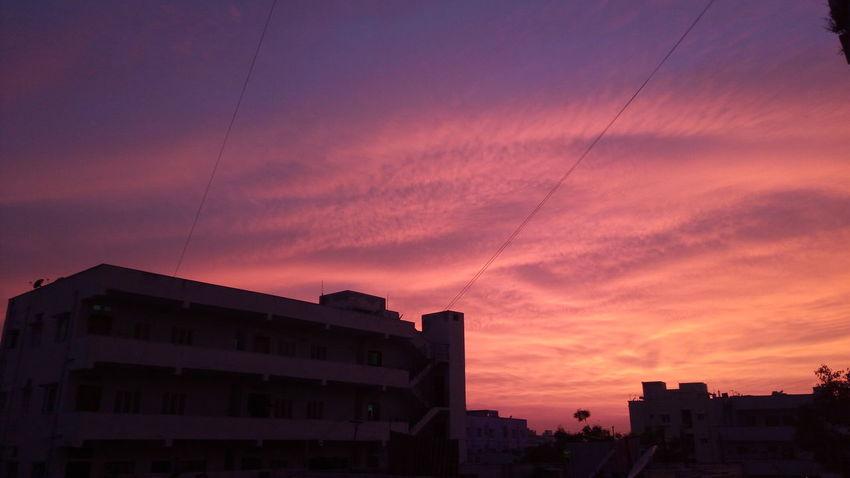 Sunset Dusk Red Outdoors Cloud - Sky Nature Dramatic Sky