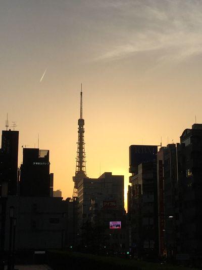 TOKYO Tower City Sunset Neighborhood Map