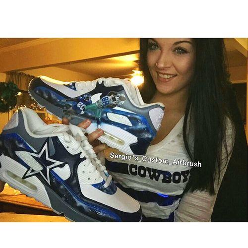 Dallas cowboy custom airmax