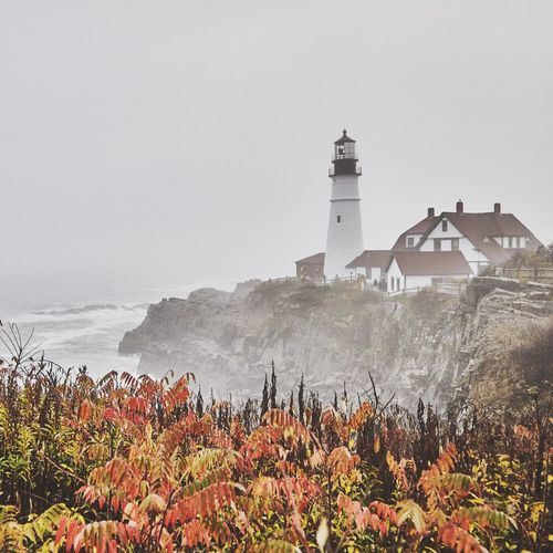Maine Light House. Architecture Built Structure Nature No People Beauty In Nature Outdoors Travel Photography Photography Hikingadventures Travel Destinations ClayHaynerPhoto Photooftheday Landscape Maine Lighthouse Clay Hayner Photo Travelling Trail Travel Fall Autumn Beauty In Nature Explore Adventure Photo Of The Day
