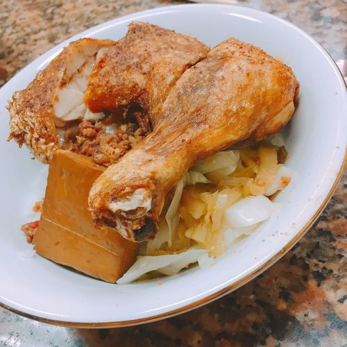 Food Ready-to-eat Meal Love Fried Chicken Taipei 浙江武昌排骨大王 First Eyeem Photo