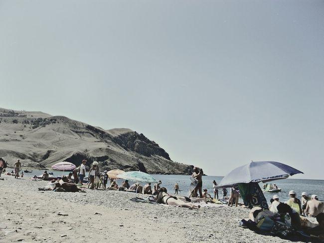 пляж Крым ностальгия воспоминания
