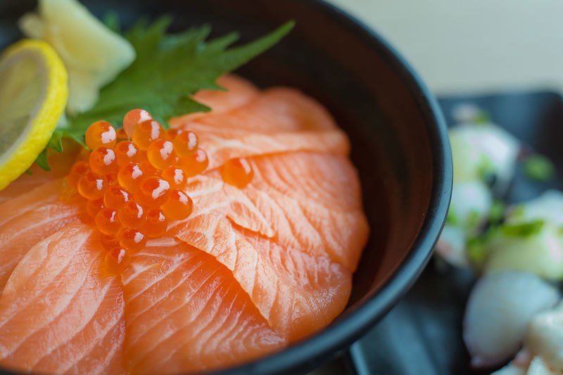 Salmon Salad SalmonLove Close-up Day Food Food And Drink Freshness Healthy Eating High Angle View Indoors  No People Raw Food Ready-to-eat Salmon Salmon - Seafood Salmon Grill Salmon Sashimi Salmone Seafood SLICE Still Life Vegetable