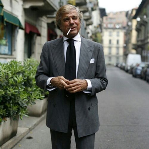 Mr Lino! Legend! Ieluzzi Sprezzatura Dapperlook Dapper sartorialist sartorial tailoring italian fashion fashionstudy mensfashion