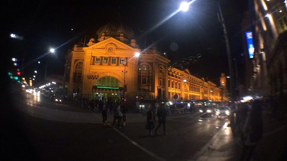ILLUMINATED Built Structure City City Life City Street Crowd Illuminated Night Outdoors People