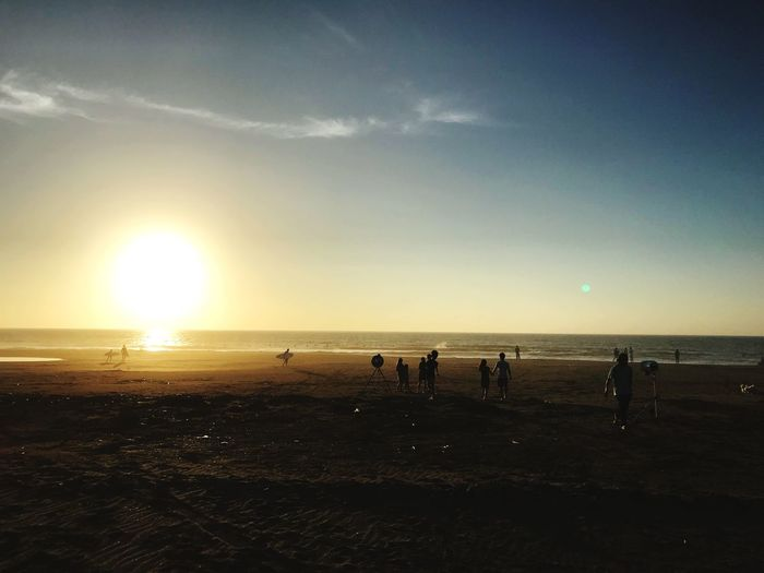 Sky Sea Beach Water Land Sunset Sun