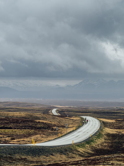 Auto Racing Beauty In Nature Car Cloud - Sky Curve Epic Golden Hour Highway Iceland Landscape Moody Motorsport Mountain Mountain Road Nature Outdoors Road Scenics Sky Storm Cloud Transportation Winding Road