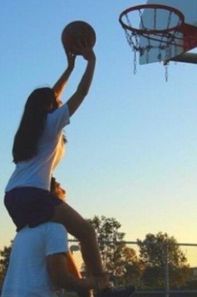 Cute Basketball Couple Love