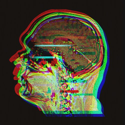 EyeEmNewHere Multi Colored Neon Glitch Glitchart Xray Xray View Brain HEAD Photoshop Think Thinking Digital Art Popart Contemporary Art Contemporary