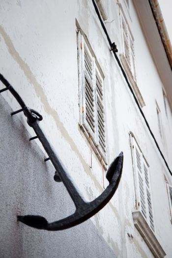 Built Structure Architecture Building Exterior Wall - Building Feature Day No People Metal Low Angle View Outdoors Window Old Wall Anchor - Vessel Part
