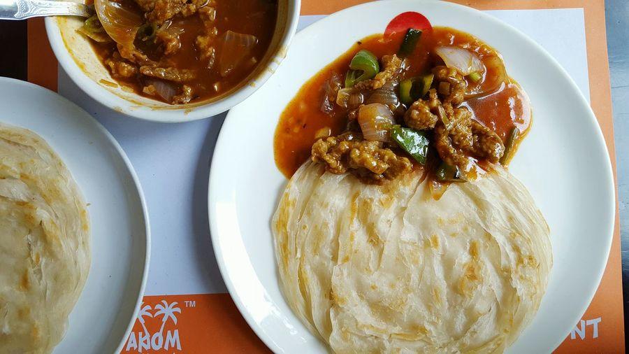 Kerala Paratha and Chilli beef Kumarakom Foodphotography Indiancuisine Kerala Mouthwatering Deceptively Simple Southindianfood Eyeemfoodlover EyeEm SamsungS6