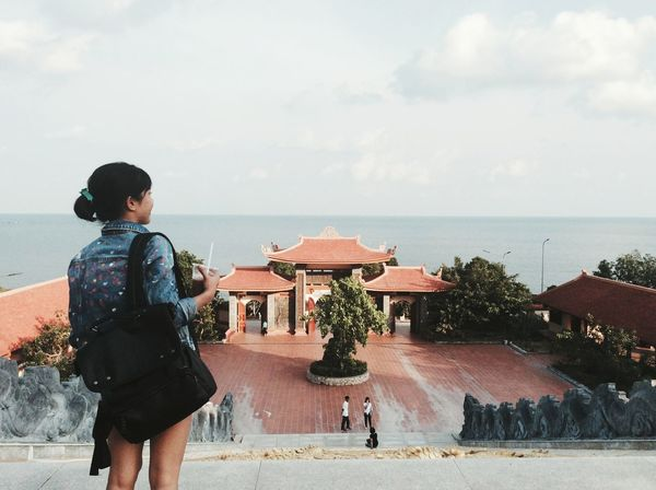 Live For The Story Phu Quoc Beach Top Of View Pagoda 😀 Travelling Lodvieliz Vietnam Girl