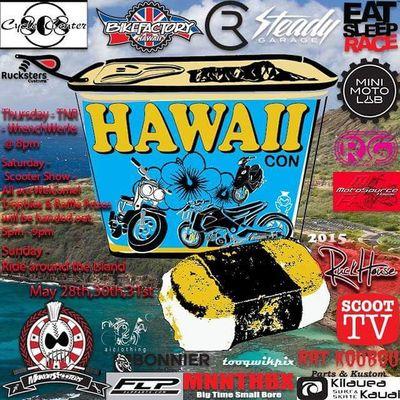 Hawaiicon is getting close. Whose ready? @makoa_scooters @homemadepowa @bikefactoryhawaii @steadygarage @rcscooters @eatsleeprace @minimotolab @ruckgirls @motosourcehawaii @honestmike @ratkoubou @kilaueass @mnnthbx @bonniermotorcyclegroup @ruckhouse @rucksters_customs @tooqwikpix @ai_clothing @evantflp Ruckus Grom Scooter spree honda yamaha nycalive @tokyoparts @markfatlace totalruckus hondalife ruckporn ruckuslife